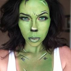Image result for she hulk makeup