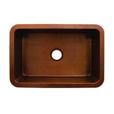 Whitehaus WH3020COUM Single Basin Undermount Kitchen Sink