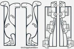 ΚΑΤΑΣΚΕΥΗ ΣΕΛΙΔΟΔΕΙΚΤΩΝ ~ Los Niños Bookmark Craft, Diy Bookmarks, Adult Coloring Pages, Coloring Books, Diy Marque Page, Stick Figure Drawing, Diy And Crafts, Paper Crafts, Marque Page