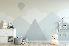 Kids Wallpaper For Child Cartoon Mountain Landscape Wall Mural Soft Hot Air Balloon Wall Print Baby The post Kids Wallpaper For Child Cartoon Mountain Landscape Wall Mural Soft Hot Air Balloon Wall Print Baby appeared first on Babyzimmer ideen. Geometric Wallpaper For Walls, Kids Wallpaper, Wall Wallpaper, Temporary Wallpaper, Bedroom Wallpaper, Wallpaper Size, Painting Wallpaper, Cartoon Wallpaper, Baby Bedroom