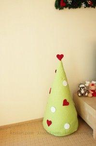 diy-fabric-christmas-tree-tutorial