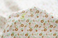 160x50cm printing fresh floral Twill Cotton Fabric DIY Children's Wear Cloth Make Bedding Quilt Decoration Home 180g/m