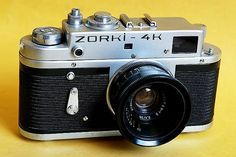 ZORKI 4K - with the help of a Weston Master lightmeter, I learnt all about exposures using this fellow. First real camera after instamatics