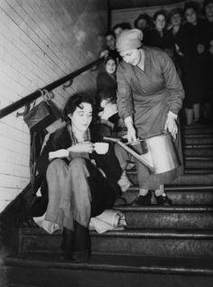 Underground Air Raid Shelter In London During World War Ii (Photo by Keystone-France/Gamma-Keystone via Getty Images)