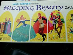 Sleeping Beauty Board Game By Parker Bros.