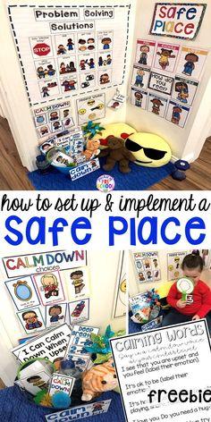Safe Place or Cozy Corner for Little Learners - Pocket of Preschool