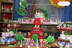 Ateliê Sonhar Festas Infantis: FESTA DA PEPPA PIG NO PICNIC - FOTOS OFICIAIS DE NOSSO STAND NO l FESTEIRAS DO E.S. 2013