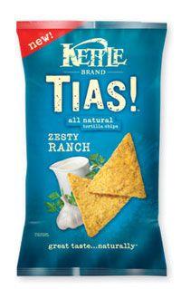 Hard corn chips