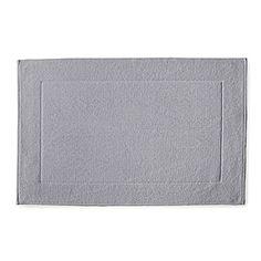 Textured Cotton Bath Mat – Dove Grey   Serena & Lily