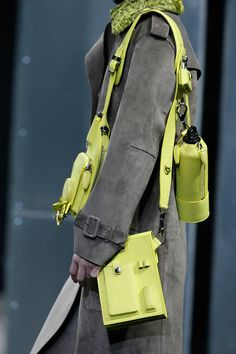 go go gadget bags @ Alexander Wang Fall 2014