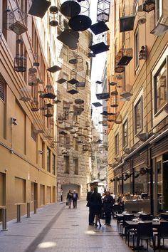 ondrejchudy:      Forgotten Songs part of Angel Place and Ash Street Sydney Laneway Upgrades  Sydney, Australia