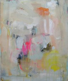 sally king benedict - love abstract art and these colors!