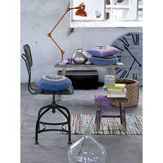 orange desk lamp (Bloomingville) - Woonwinkel Siep