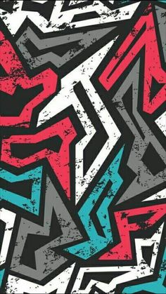 Graffiti-Tapete – Symnr_kc – Join the world of pin Colorful Wallpaper, Cool Wallpaper, Mobile Wallpaper, Pattern Wallpaper, Wallpaper Keren, Trendy Wallpaper, Cellphone Wallpaper, Galaxy Wallpaper, Wallpaper Backgrounds