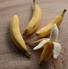 nunu's house - by tomo tanaka - Aka this is a friking miniature banana and everything else is bullshit