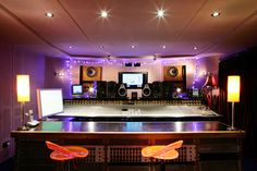 Assault & Battery 1 Control Room with the famous SSL SL4072 G Series Mixing Desk