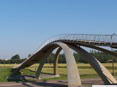 The Most Unusual Bridges in the World - Leonardo da Vinci's bridge, Norway