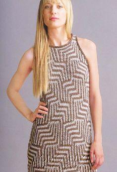 Двустороннее вязаное платье от Teva Durham