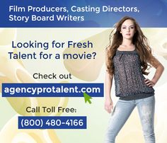 Looking for Fresh Talent for your Next movie, serialdrama, Reality Show ?  Connect with agencyprotalent.com  for Free and get access to 427,195 talent representation and network within the community.