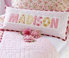Name pillow tutorial..