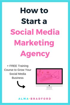 Learn how to go from being a solo social media manager to starting your own agency that lets you earn more income and work less hours // Alma Bradford -- Social Media Automation, Social Media Analytics, Social Media Marketing Agency, Marketing Automation, Facebook Marketing, Social Media Tips, Marketing Strategies, Marketing Ideas, Content Marketing