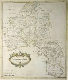 Antique maps uk england oxfordshire map by thomas kitchin map by robert morden an antique map in our oxfordshire england category find this pin and more on antique maps of sciox Gallery