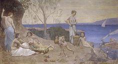 Puvis de Chavannes, Doux Pays, 1882