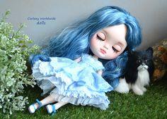 Icy blythe doll na zakázku podle CARLAXY | eBay