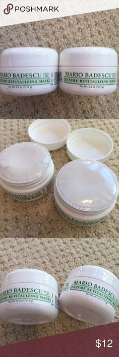 Enzyme Revitalizing Mask Mario Badescu Two deluxe travel sizes of this mask. Sealed and never opened. Sephora Makeup