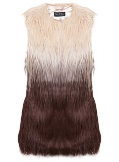 Layer up this winter with this dip dye gilet from Miss Selfridge. Wear with skinny jeans and knee high boots for a stylish weekend ensemble. £55