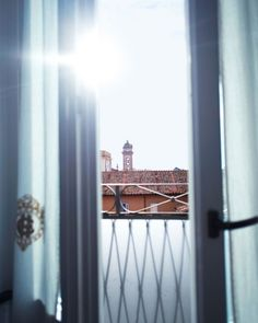 The view from the Hotel Eden in Rome, Italy.