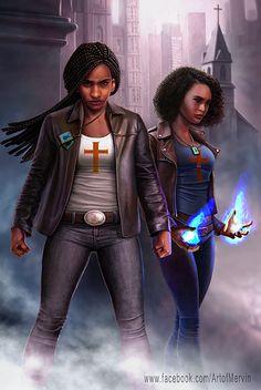 Adalia and Jamari Moore ~Mervin Kaunda Black Love Art, Black Girl Art, Black Is Beautiful, Black Girl Magic, Art Girl, African American Art, African Art, Black Comics, Black Art Pictures