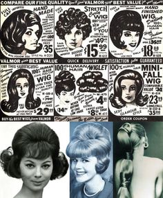 Wigs & Hairpieces Funky Hairstyles, Vintage Hairstyles, Wig Hairstyles, Swinging London, Hair Creations, Famous Women, Big Hair, Timeless Beauty, Hair Dos