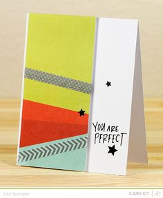 You Are Perfect (*Cuppa card kit only*) by sideoats at @Studio_Calico #SCcuppa