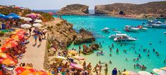 Comino! One of the most beautiful places that I visited while in Malta, Europe <3