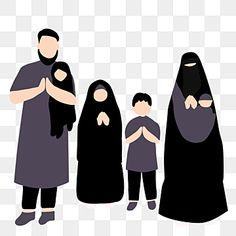 Wedding Background, Red Background, Family Day, Happy Family, New Wallpaper Hd, Happy Eid Mubarak, Muslim Family, Anime Muslim, Family Illustration