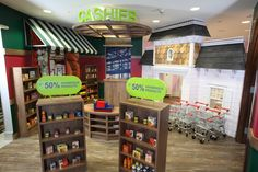 This is every child's dream play grocery store...and let me say it is awesome!! Atlantis Kids Adventures: Kids Club & Atlantis, Paradise Island Resort | Child Mode.