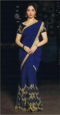 Actress Tamanna in Saree Latest Photos Beauty Full Girl, Beauty Women, Indian Dresses, Indian Outfits, Moda India, Indische Sarees, Saree Models, Indian Beauty Saree, Indian Sarees