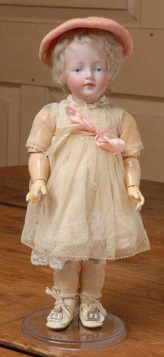 """11.5"""" Kestner 178 Character Doll from beckysbackroom on Ruby Lane"""