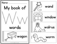 Alphabet flip books to teach letter recognition and beginning sounds! Letters are large enough so little kiddos can rainbow write the letter to practice letter formation!