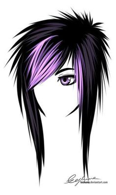 awesome Gallery for  Chica-emo-demonio-color-chica-emo