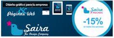 Servicios de diseño gráfico con Saira Design - 15% de descuento