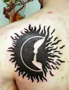 Unique Sun Tattoo Designs 2016