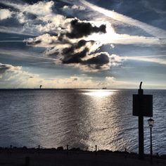 Urk, The Netherlands. Lake view.