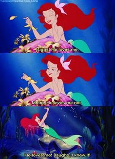 From Disney's The Little Mermaid Another one of my favorites!!!(:
