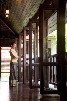 Come into RarinJinda Wellness Spa Resort Chiang Mai, Thailand