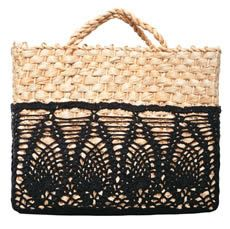 straw bag cover.