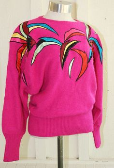 Material Girl  Circa 1980s  Appliqued and Beaded  by CallMeChula, $22.00