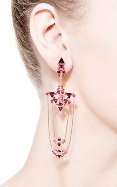 Fusion Trapeze Earrings by Fernando Jorge for Preorder on Moda Operandi