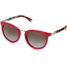 46bc9879b5 Polo Ralph Lauren Women s 0RA5207 Round Sunglasses ( 109) ❤ liked on  Polyvore featuring accessories